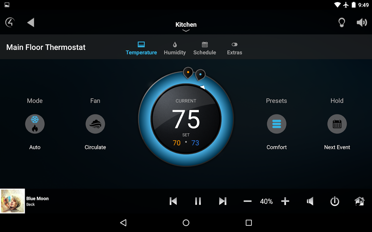 control4 how to add sonos