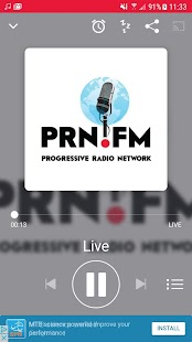 The Progressive Radio Network- screenshot thumbnail