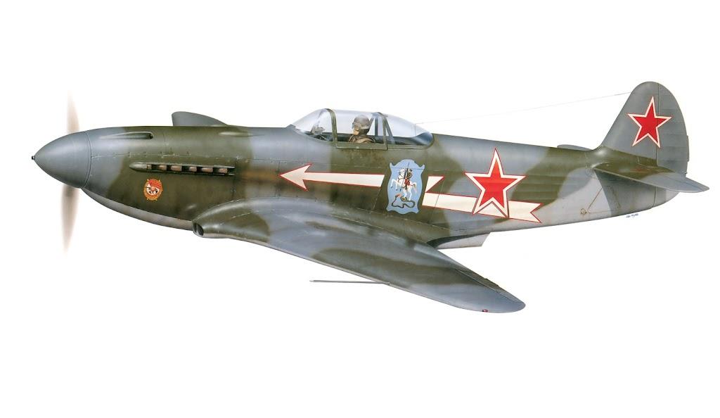 Caça Yakovlev Yak-1 da Força Aérea da URSS
