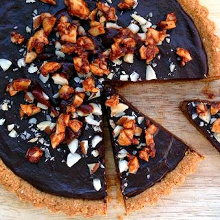 Montezuma's Spicy Chocolate Tart