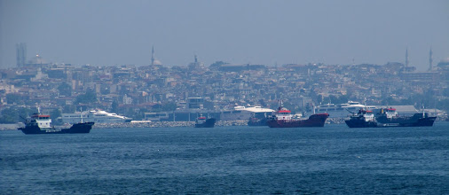 Photo: Day 103 - Our First View of Istanbul