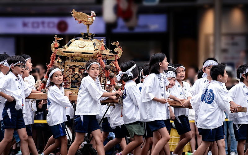 The Mikoshi team di Dariagufo