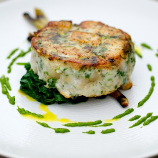 Haddock Fishcakes with Parsley Sauce Recipe