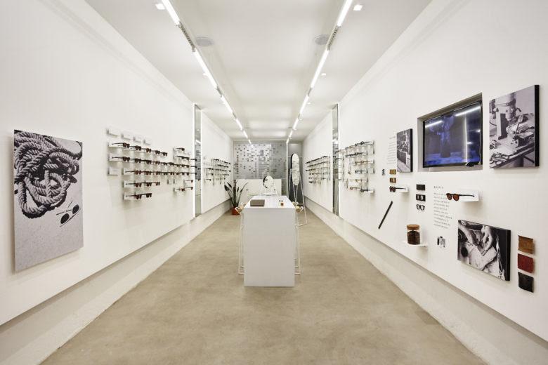 Thiết kế cửa hàng kính mắt - Thiết kế shop thời trang kính mắt 2