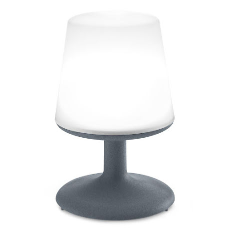 LIGHT TO GO LED Lampa, Organic deep grey