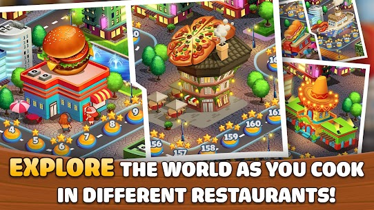 Kitchen Craze: Cooking Games for Free & Food Games App Latest Version Download For Android and iPhone 3