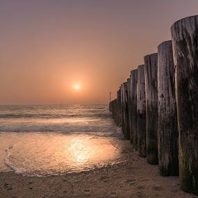 Golden Hour by Souhayl Bk - Landscapes Beaches ( golden hour jumeirah beach dubai )