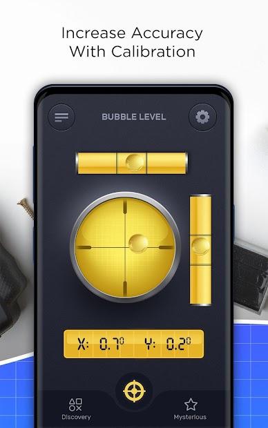 Smart Bubble Level – PRO Spirit Level, Measurement