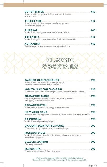 Bier Garten Top menu 2