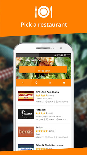 Lieferando.de - Order Food Applications (apk) téléchargement gratuit pour Android/PC/Windows screenshot