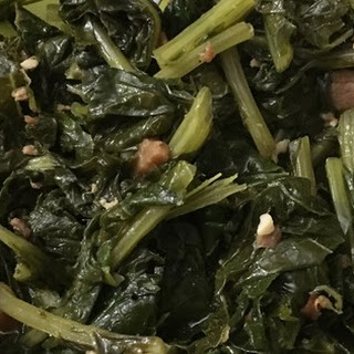 Healthy and Delicious Southern Turnip Greens.