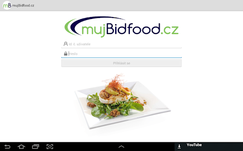 mujBidfood.cz- screenshot thumbnail