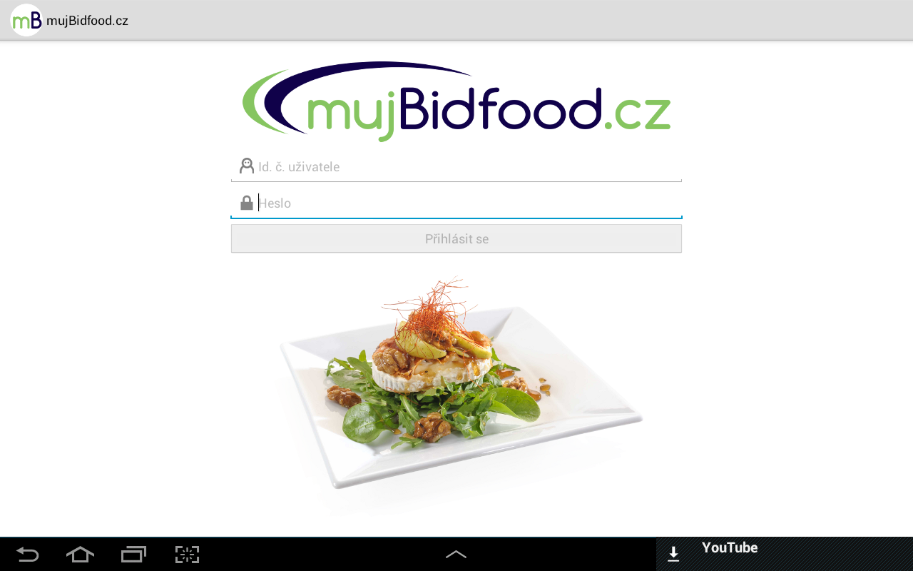 mujBidfood.cz- screenshot