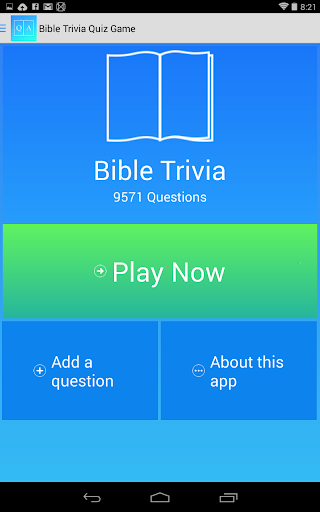 Bible Trivia Game Free screenshot 6