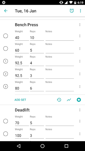RepCount - Gym Log 0.9.240 screenshots 1