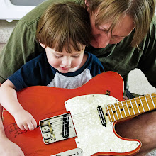 Photo: Guitar Lessons From Daddy - #WeLoveMusicWednesday