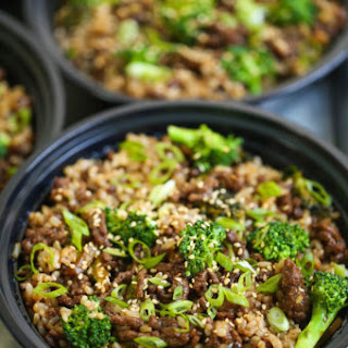 Quick Beef and Broccoli Meal Prep.