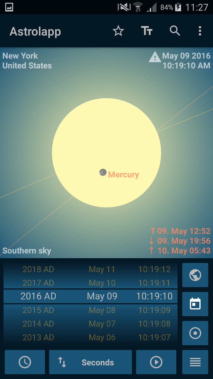 Astrolapp Live Planets and Sky Map Screenshot 7