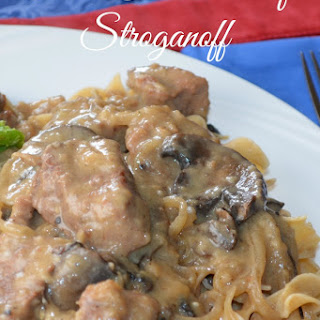 Crock-Pot Beef Stroganoff-Recipe