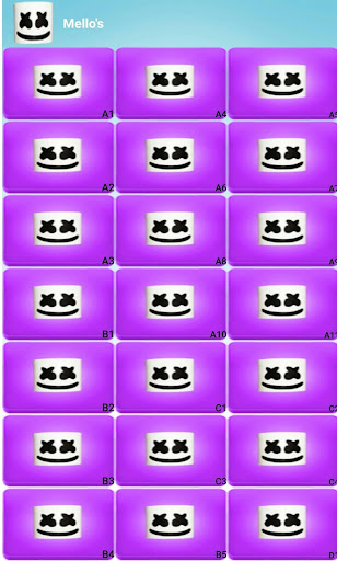 Marshmello Alone Launchpad screenshot