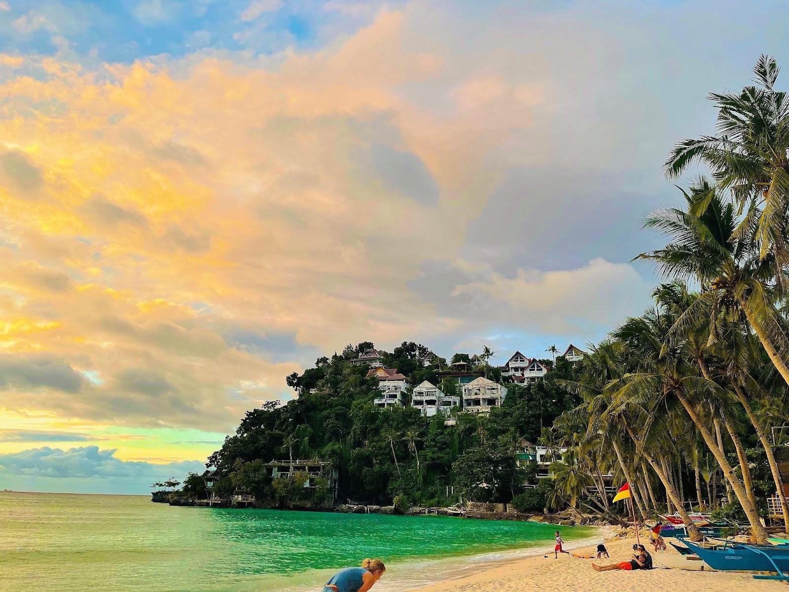 Boracay hidden beach