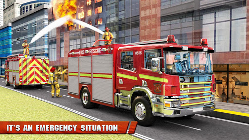 City Firefighter Truck conduite de sauvetage  captures d'u00e9cran 18
