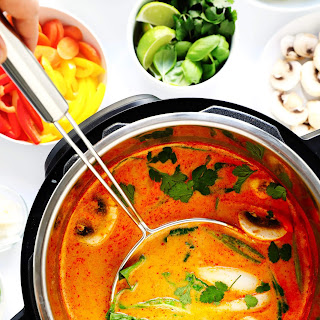 Easy Thai Curry Hot Pot.