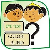 Simple Eye Test Color Blind