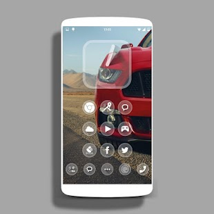 one Theme HD icons Pack Glass - screenshot thumbnail