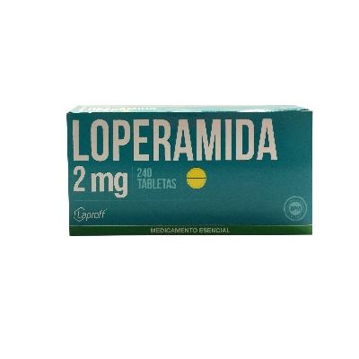 loperamida 2mg blister 6tabletas laprof