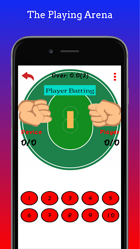 Hand Cricket 1.2 screenshots 5