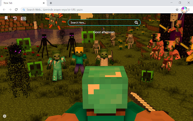 Roblox Vs Minecraft Hd Wallpapers New Tab