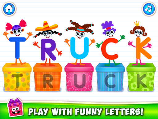 Baby ABC in box Kids alphabet games for toddlers android2mod screenshots 12