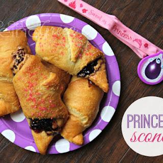 PB&J Princess Scones