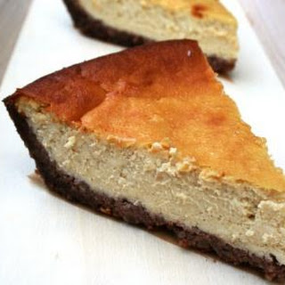 Pecan Crusted Cheesecake.