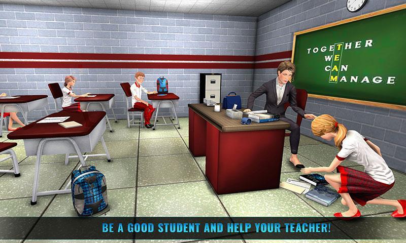 Download HighSchool Head Girl: Campus Life Simulator APK latest