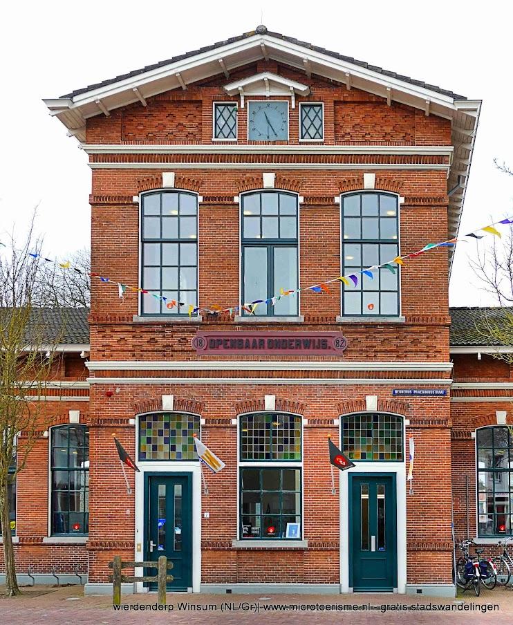 Aangeboden door: Stichting Microtoerisme InZicht Fotoblog Winsum bibliotheek openbare lagere school Wind