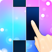 Piano White Go! - Magic World on Music Tiles