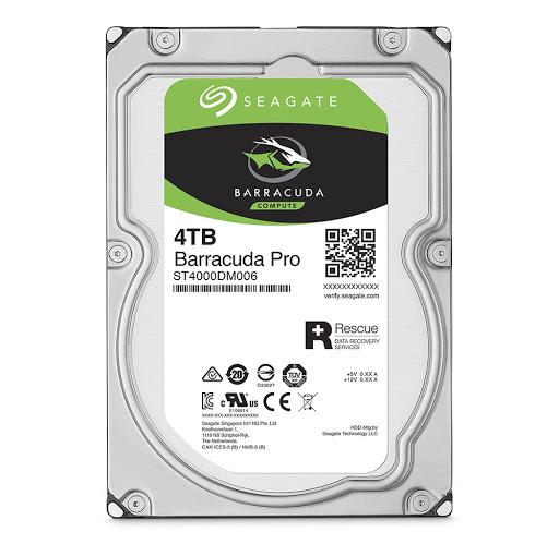 Ổ cứng HDD PC Seagate Barracuda Pro 4TB 3.5