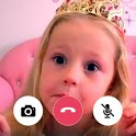 Funny Kids Video Call & Chat Simulation icon