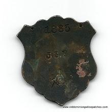 Photo: Storey County Sheriff, Nevada, Badge (Masonic, Reverse)