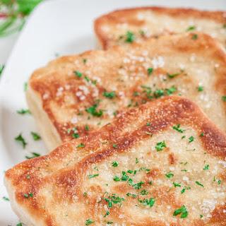 Easy Garlic Herb Flatbread