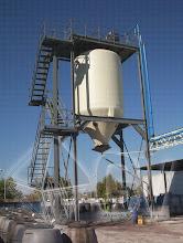 Photo: Gas Vapor S.L. - www.gv.iei.es Instalación de Desengrase de Aguas de Arrastre de Huesos -  Silo de Huesos