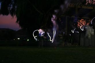 Photo: Fun at night!