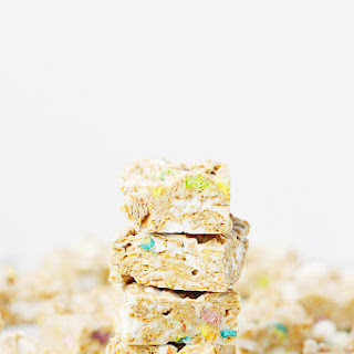 Lucky Charms Frosted Flakes Marshmallow Treats.