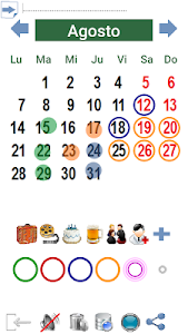 Calendario Paint screenshot 5