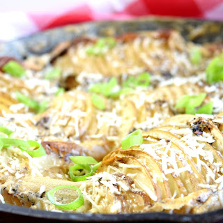 Accordion Skillet Potatoes