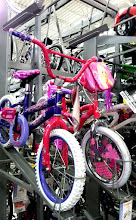 "Photo: My youngest is in search of a ""big girl"" bike!"