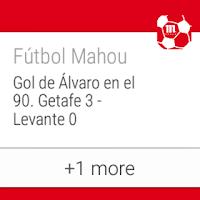 Screenshot of Fútbol Mahou