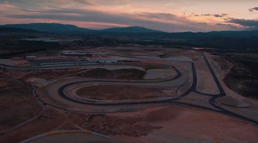 Almería, protagonista en el anuncio de una conocida marca de motos
